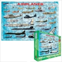 Puzzle-Airplanes 100 pc