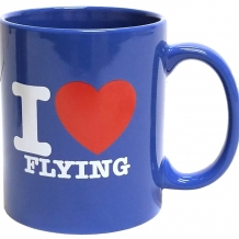 Mug-I Love Flying