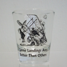 Some Landings Shot Glass